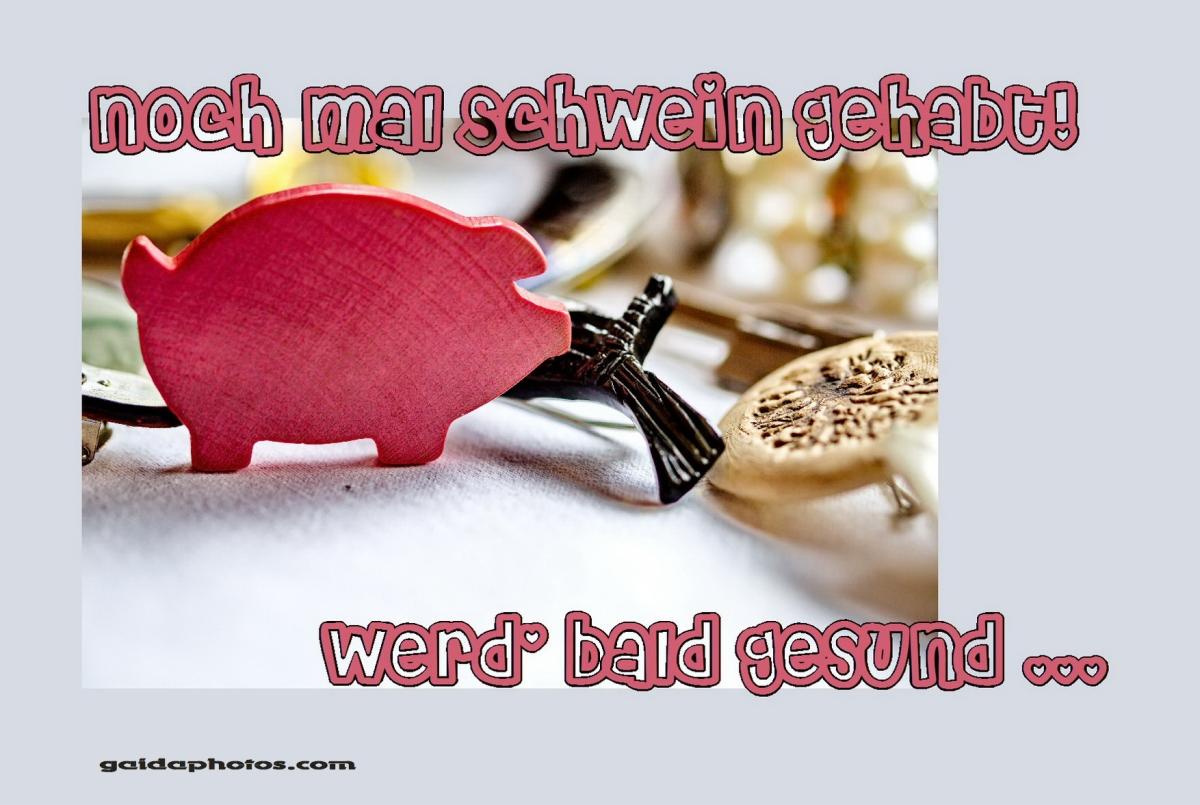 """""""Gute Besserung"""" Karten & Genesungswünsche"""