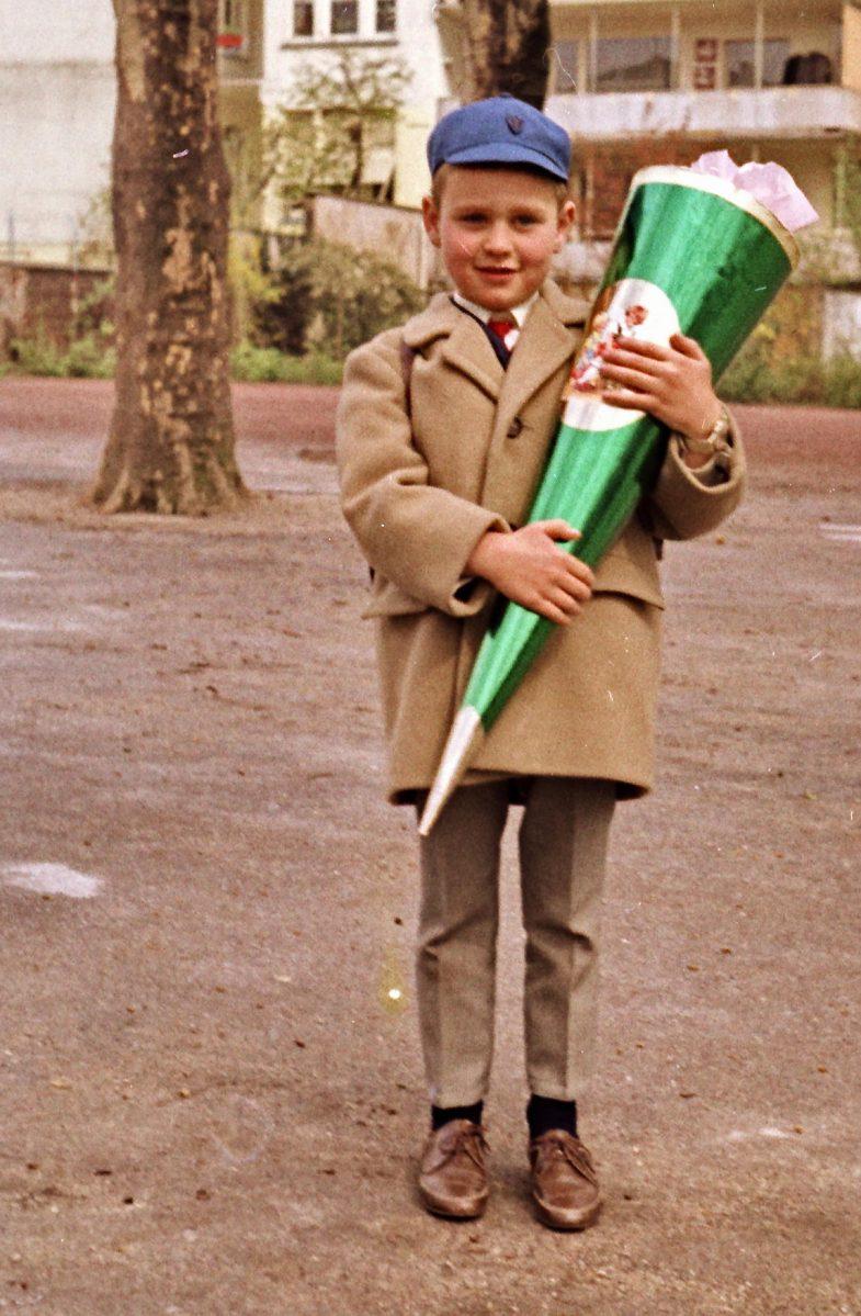 Schulanfang in den 1960er Jahren