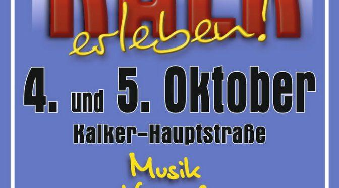 Stadtteilfest Köln Kalk 4.-5.10.2014