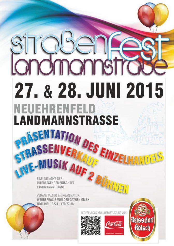 Landmannstraße Straßenfest 2015