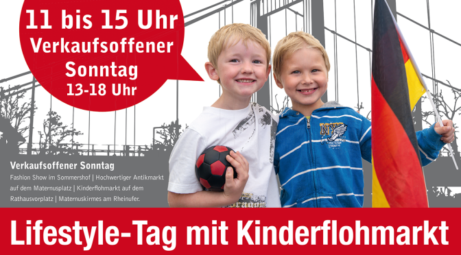 Lifestyle-Tag in Rodenkirchen, 27.09.2015