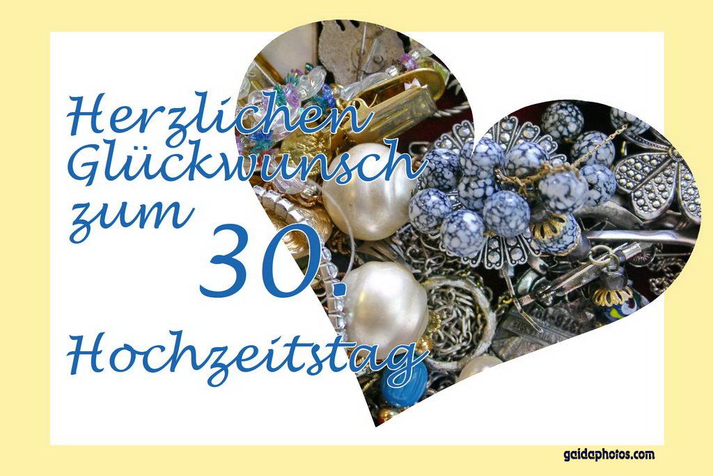 Perlenhochzeit Sprüche 30 Hochzeitstag Gaidaphotos 39 S
