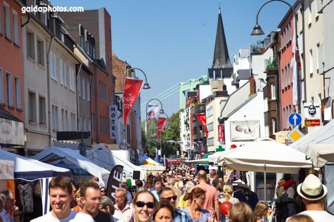 verkaufsoffener Sonntag 2016 in Köln
