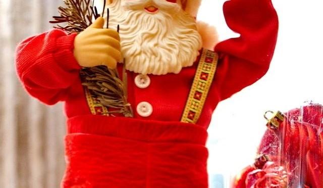 Ho-Ho-Ho hier kommt der Weihnachtsmann