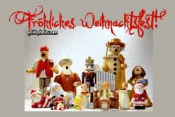 Weihnachtskarten mit Engel, Herz und Schneemann